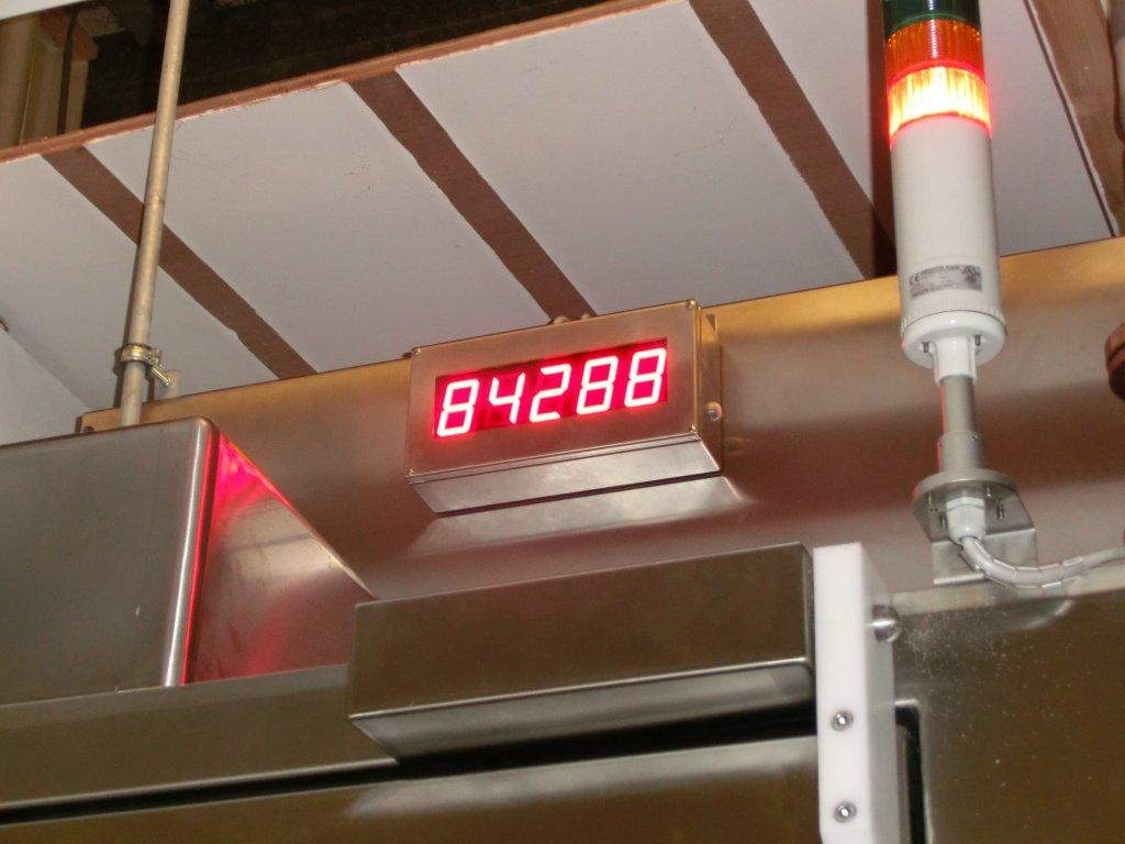 Industrial digital product counter food-industry